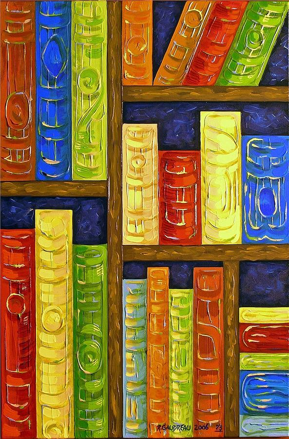 Abstract Expressionism Painting - 23 Books by Robert Gaudreau