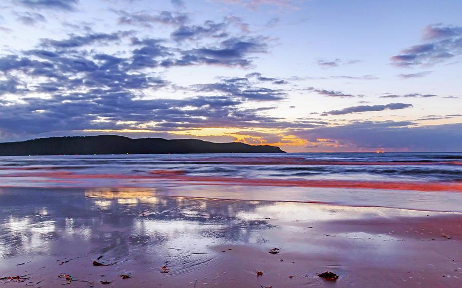 Umina Photograph - Daybreak Seascape by Merrillie Redden