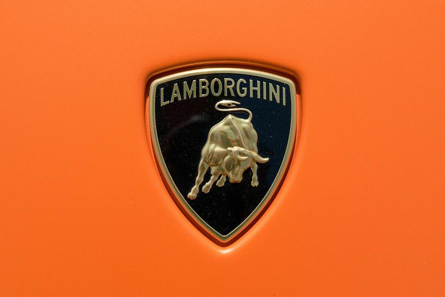 Lamborghini Badge Photograph By Lamborghini Badge