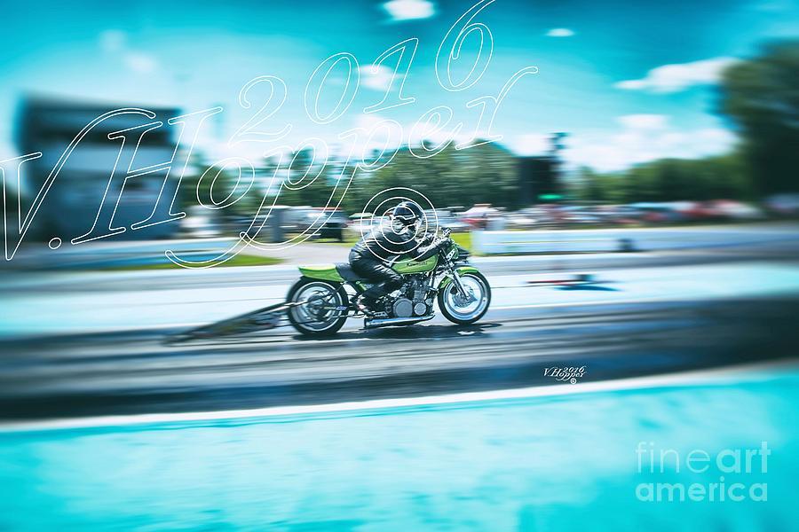 Drag Racing Photograph - 2316 by Vicki Hopper