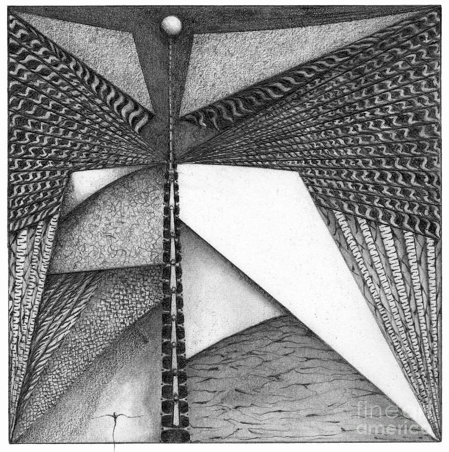 Enoch Drawing by James Lanigan Thompson MFA