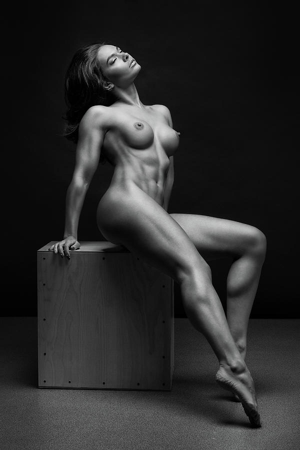 Black and white photography women nude