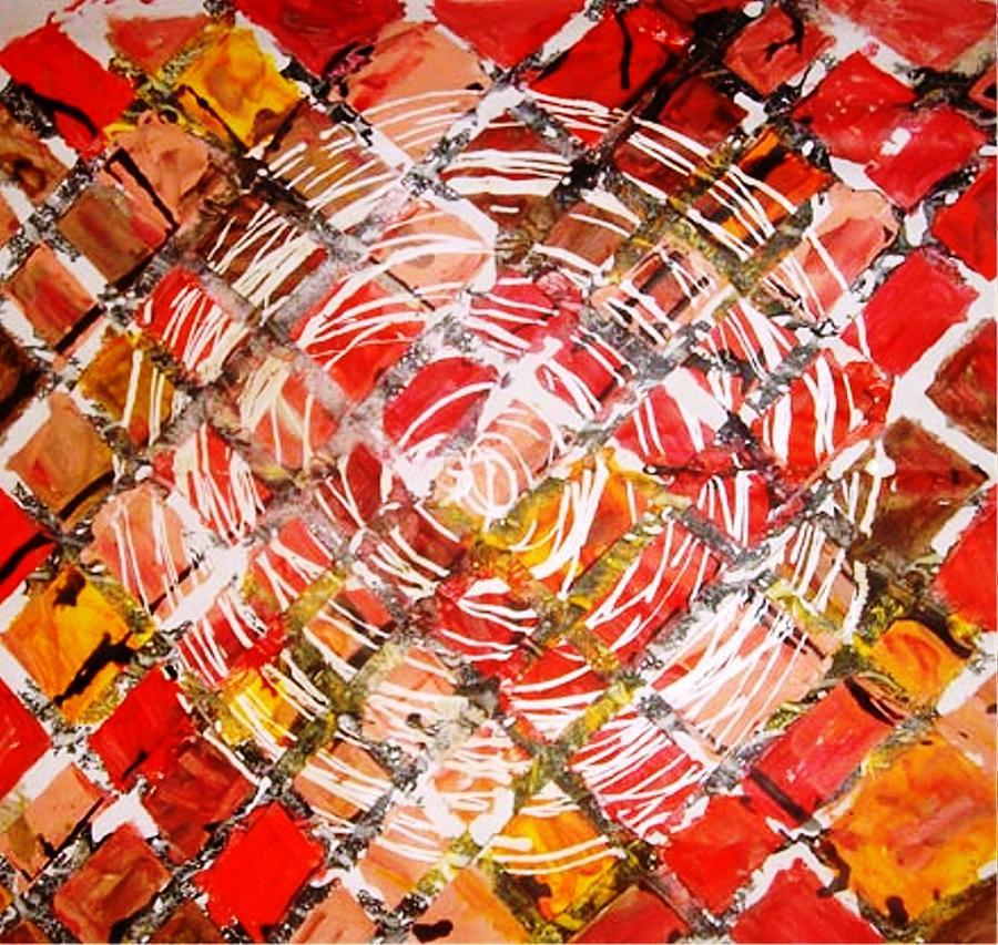 Circle Painting - Life In Circle by Baljit Chadha