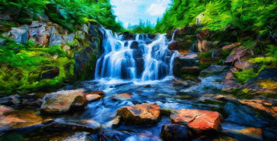 nature scenery oil paintings on canvas painting by world map