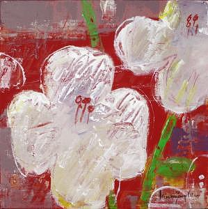 Wild Flowers Painting - 24.pop Flower Set Series K-07  by Andy Kim