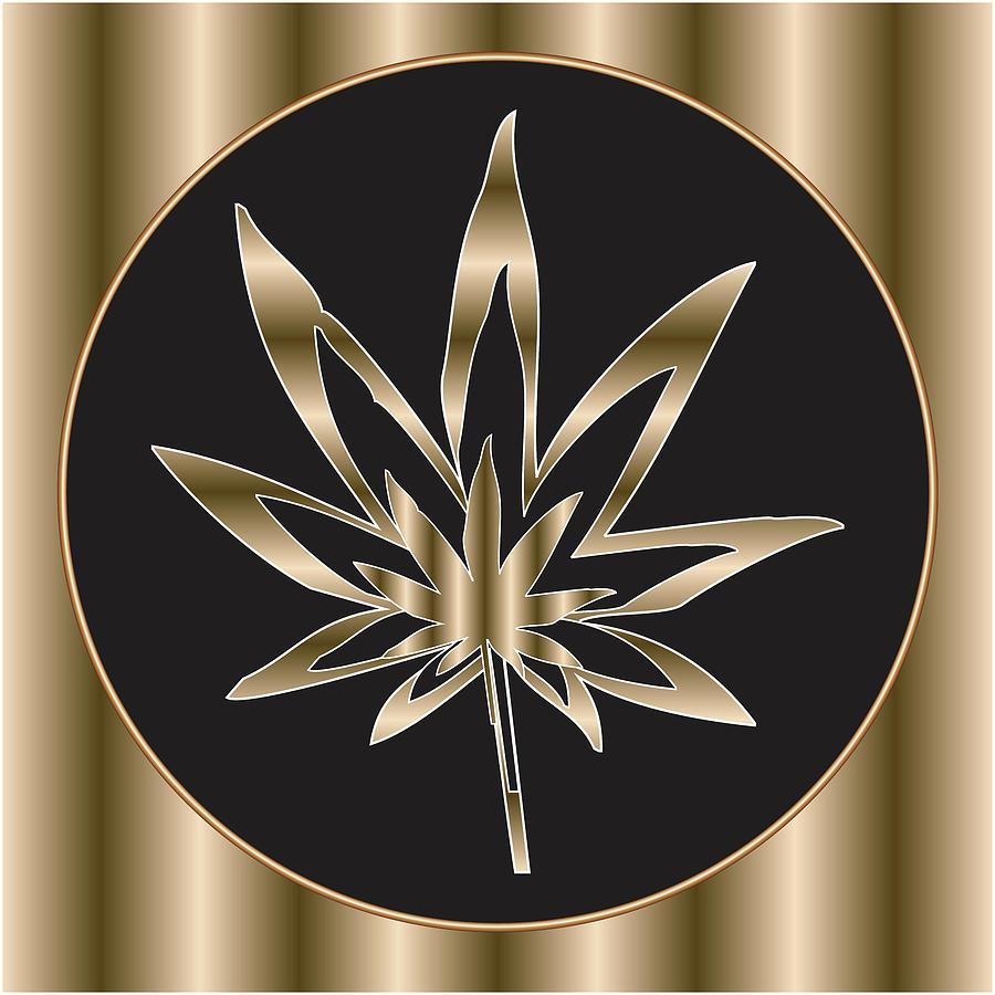Weed Digital Art - 25 by Larry Waitz