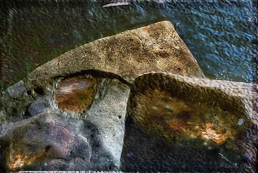 Water Photograph - Stone Sharkhead by Paul Vitko