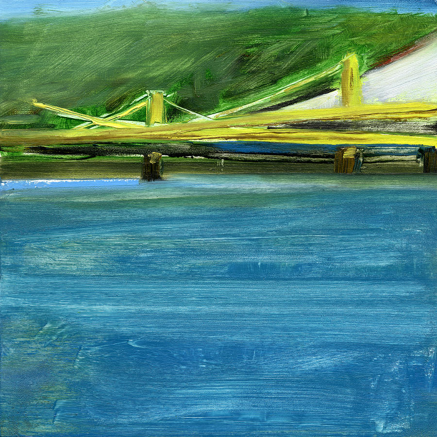 Pittsburgh Painting - Rcnpaintings.com by Chris N Rohrbach
