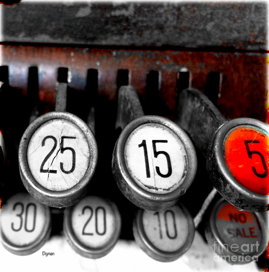 Registers Photograph - 25155 by Steven Digman