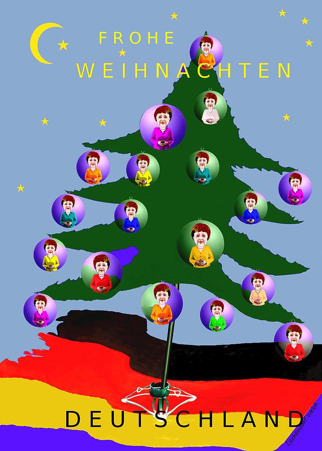 Frohe Weihnachten Aus Deutschland.2590 Frohe Weihnachten Deutschland Card 2017 By Irmgard Schoendorf Welch
