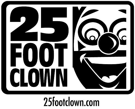 Logo Drawing - 25footclown Logo by Christopher Capozzi