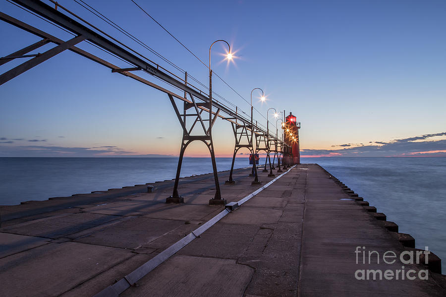 South Haven Photograph - South Haven Light by Twenty Two North Photography