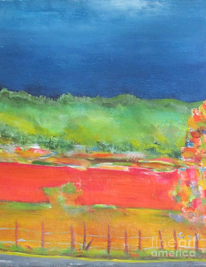 Landscape Painting - 26 W. by Chaline Ouellet