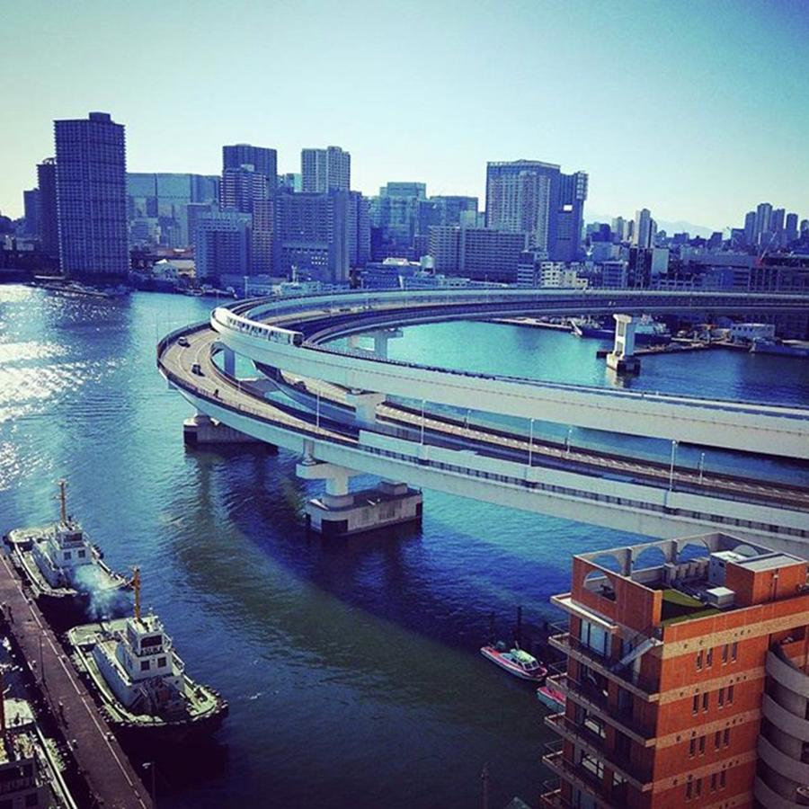 Bayside Photograph - #レインボーブリッジ by Bow Sanpo