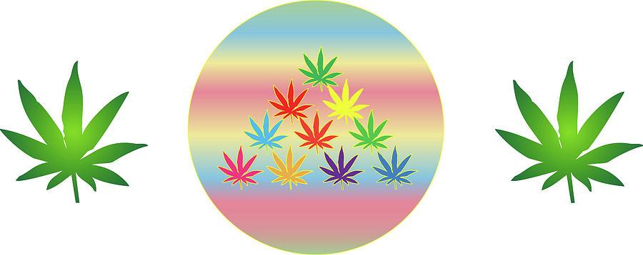 Weed Digital Art - 29 by Larry Waitz