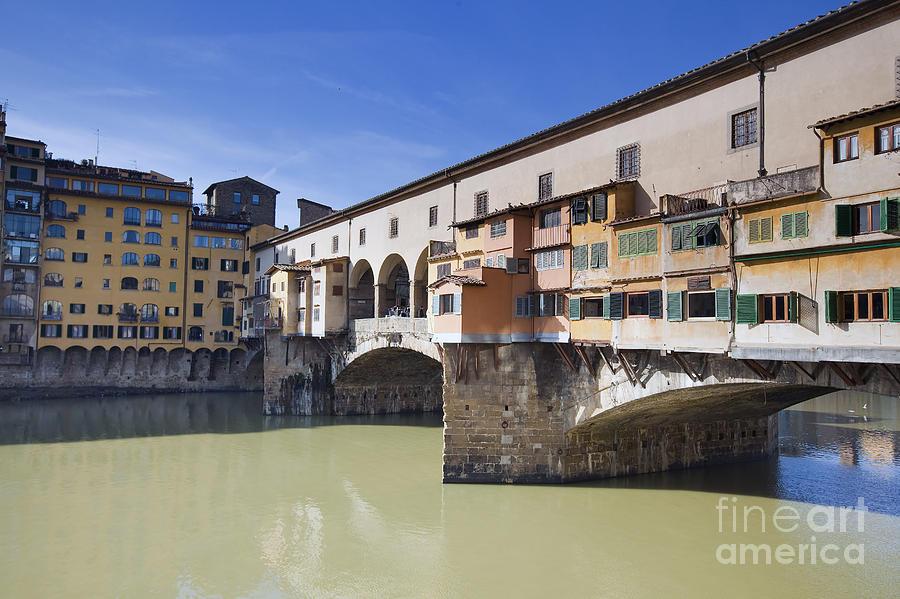Ancient Photograph - Ponte Vecchio by Andre Goncalves