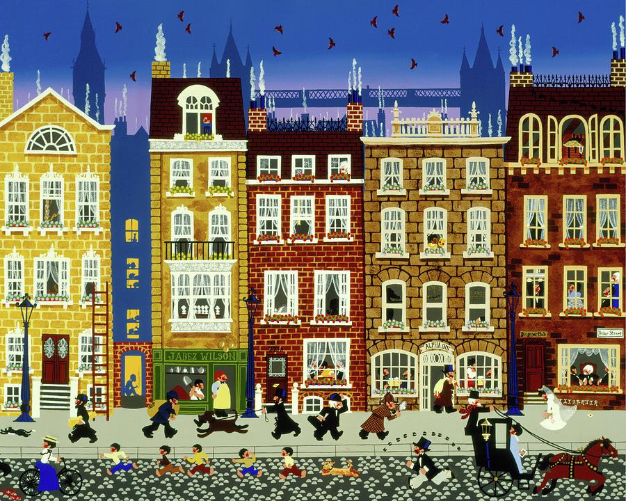 29 Stories Painting by Merry Kohn Buvia