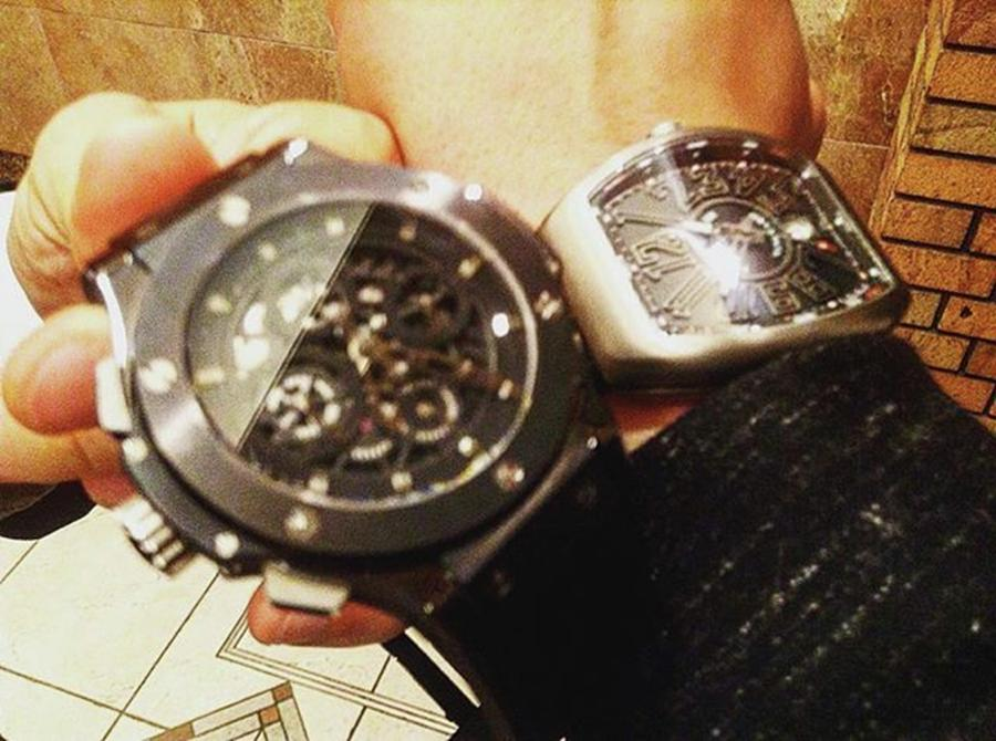Hublot Photograph - Instagram Photo by Gamikin Youtuber