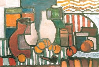 Jar Painting - 2bodegon2 by Juan Luis Quintana