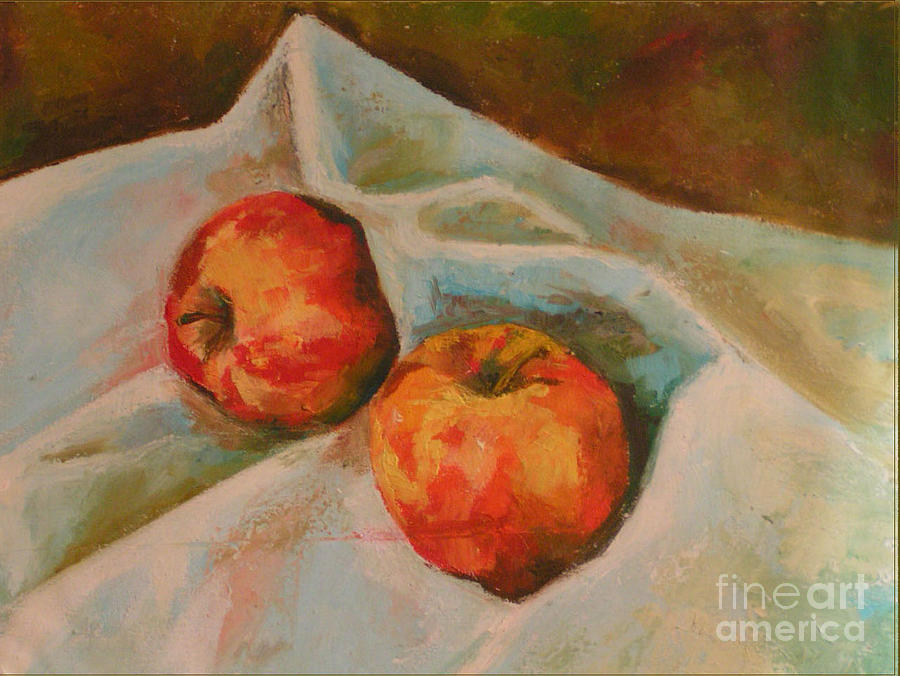 Still Life Painting - 2nd And 3rd by Azadeh Amiri
