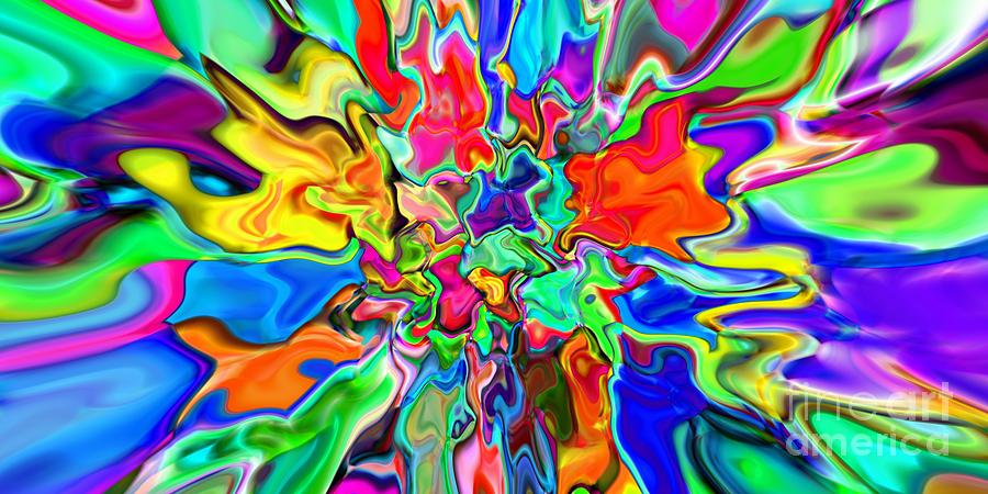 Abstract Digital Art - 2x1 Abstract 311 by Rolf Bertram