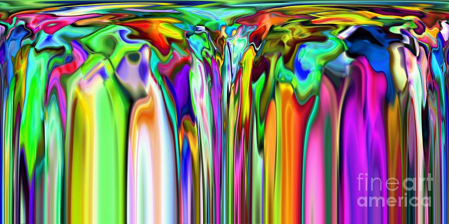Abstract Digital Art - 2x1 Abstract 316 by Rolf Bertram