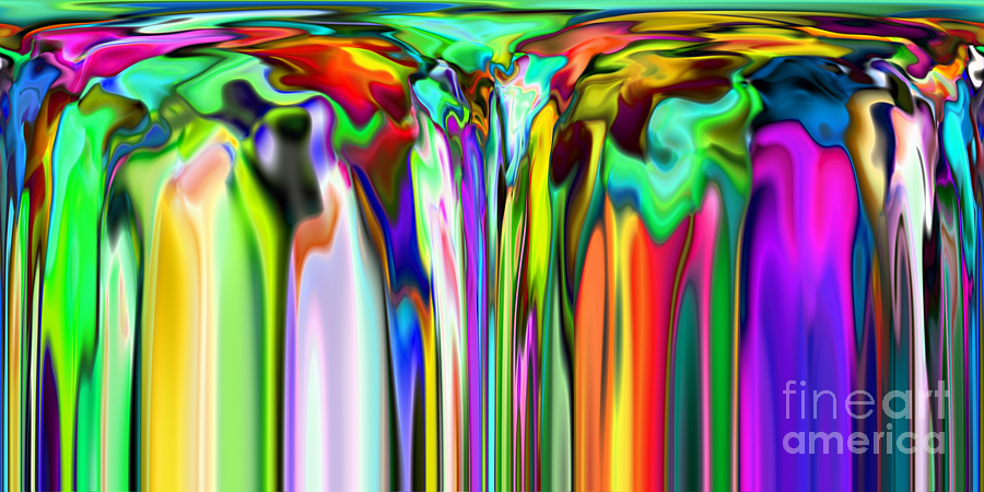 Abstract Digital Art - 2x1 Abstract 324 by Rolf Bertram