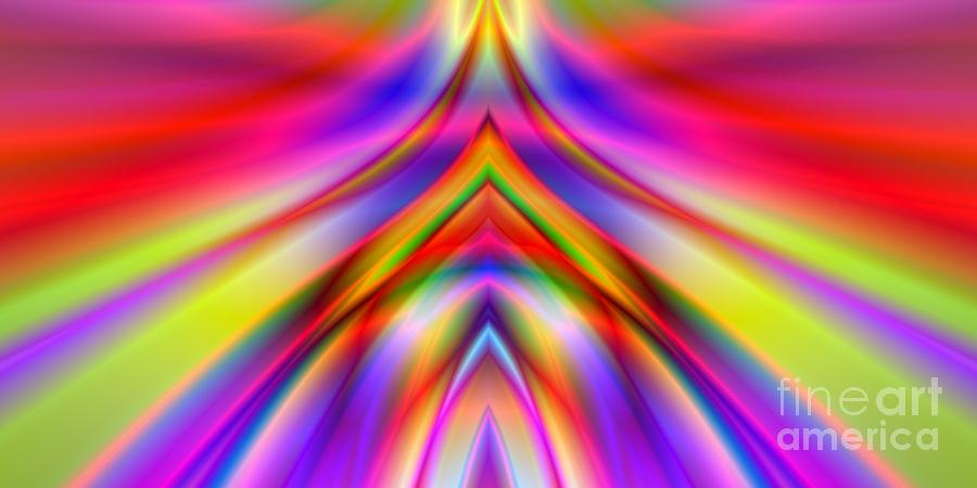 Abstract Digital Art - 2x1 Abstract 337 by Rolf Bertram