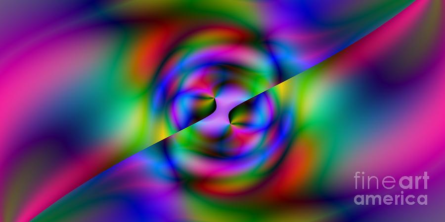 Abstract Digital Art - 2x1 Abstract 344 by Rolf Bertram