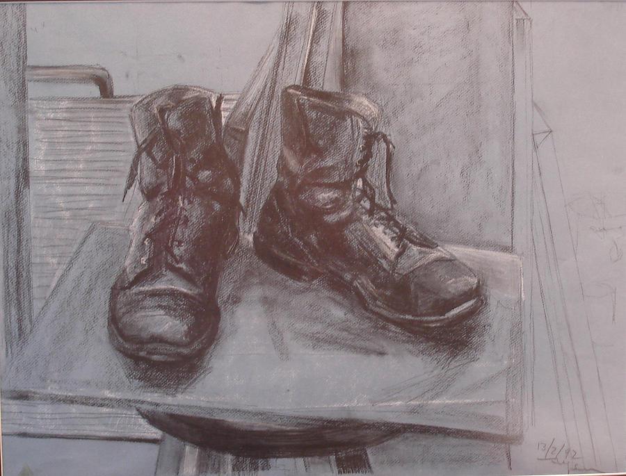 Painting by Aysu Icsel Sabuncuoglu