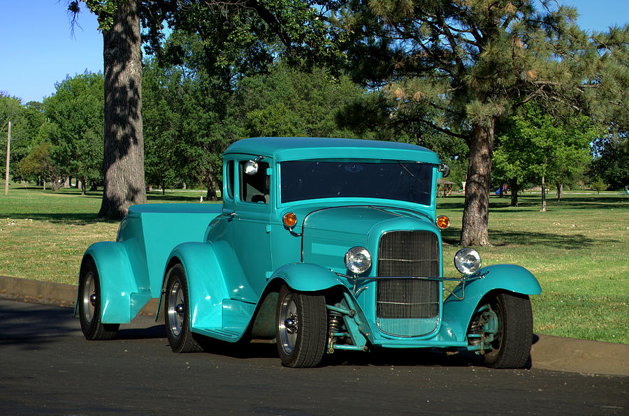 1930 Ford Coupe Hot Rod Photograph By Tim Mccullough