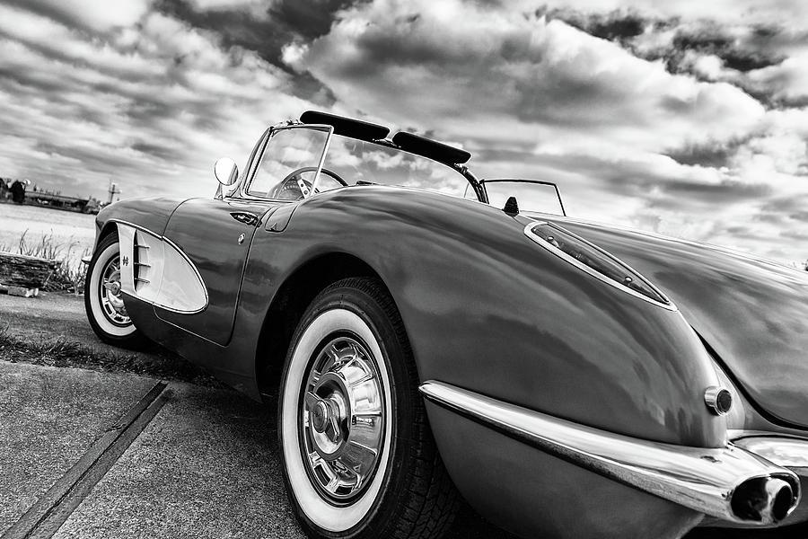 Chevrolet Photograph - 1959 Chevrolet Corvette by Wim Slootweg