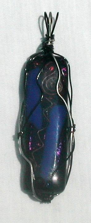 Pendant Glass Art by Lori Jacobus-Crawford