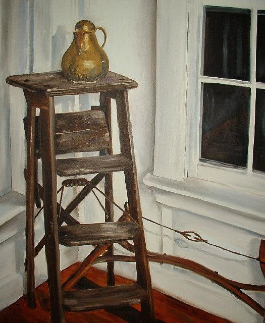 Still Life Painting - Untitled by Elisa Davis
