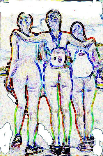 Women Digital Art - 3 2 G0 by Dave Olmsted