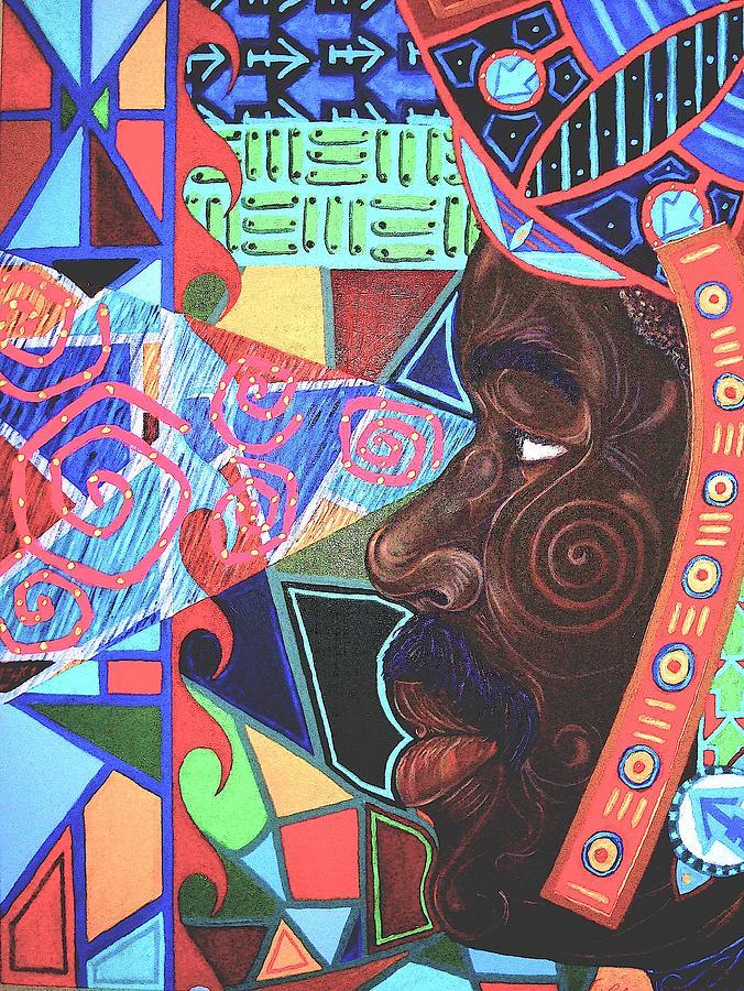 Malik Seneferu Painting - Aesthetic Ascension by Malik Seneferu
