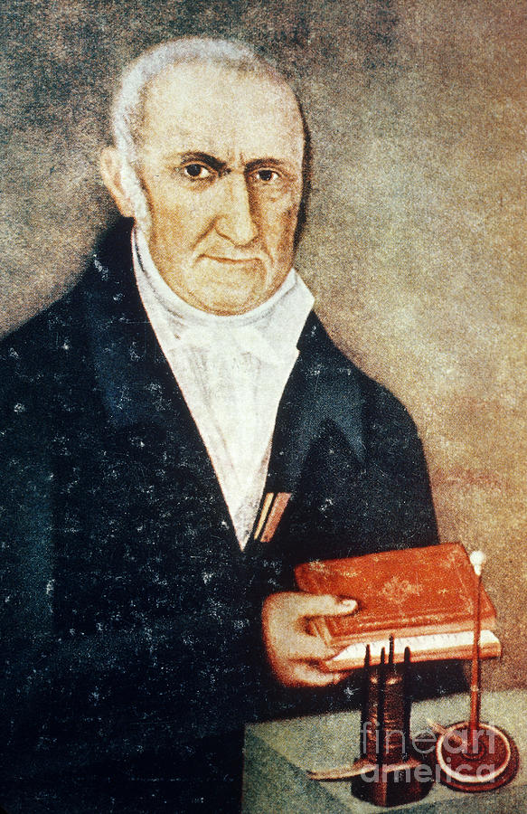 Alessandro Volta, Italian Physicist Photograph by Science ...