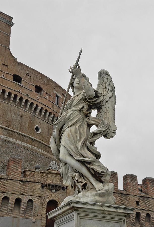 Italy Photograph - Angelo Con La Lancia by JAMART Photography