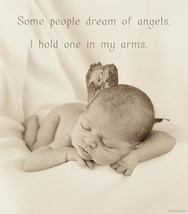 Fairy Photograph - Angels by Anne Geddes