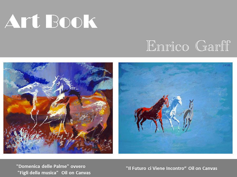 Art book Painting by Enrico Garff