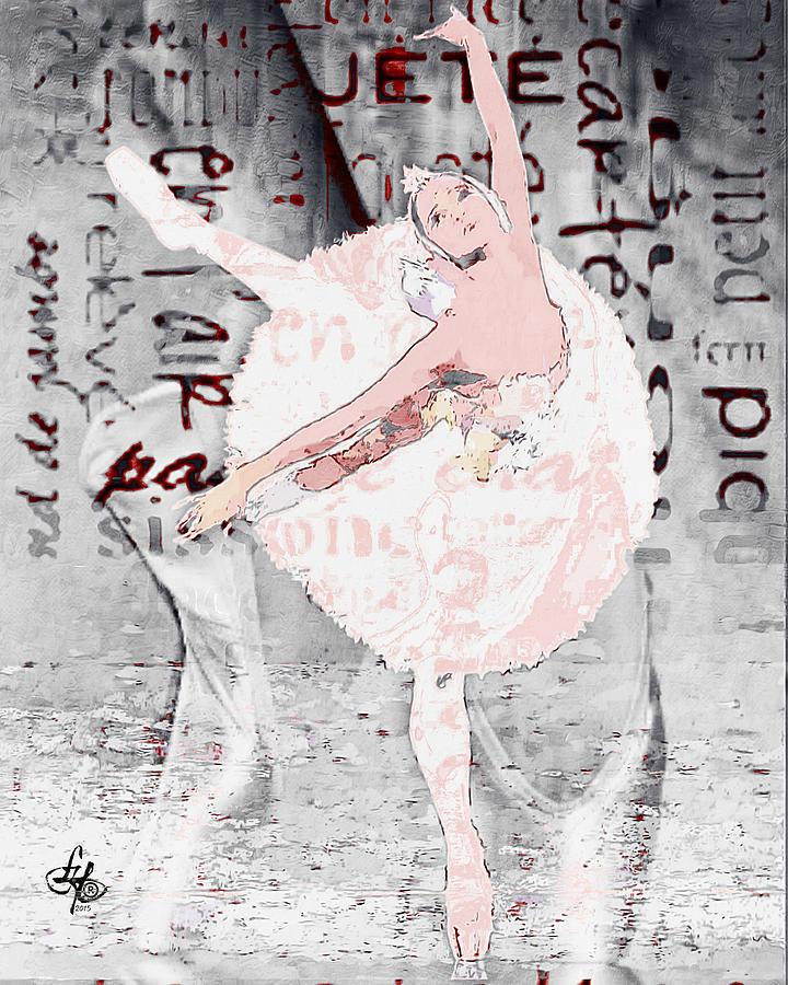 Tags Digital Art - Ballet by Lynda Payton