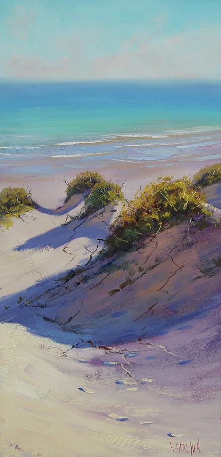 Nature Painting - Beach Dunes by Graham Gercken