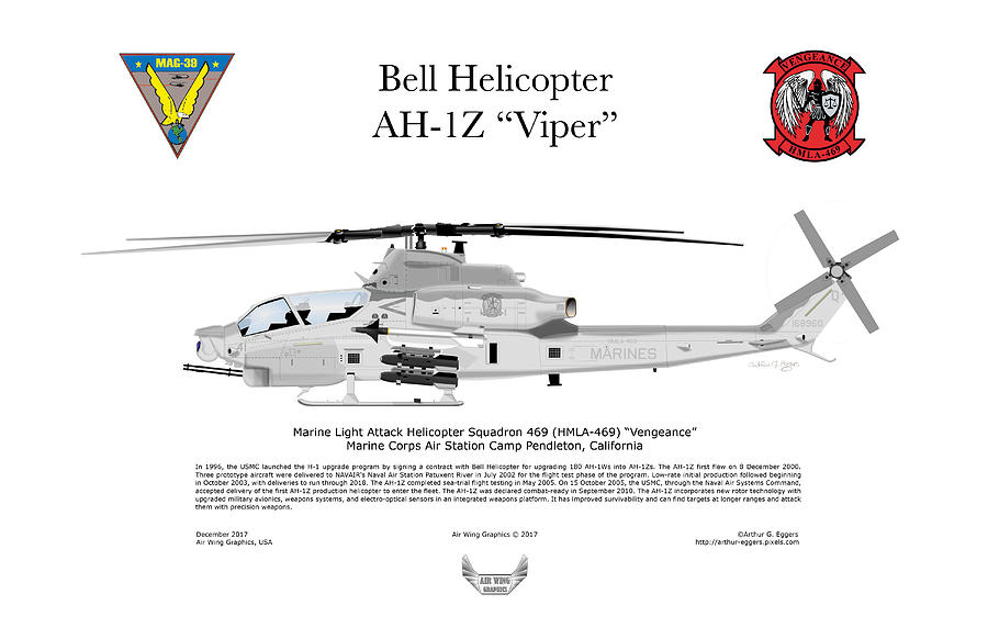 Bell Helicopter Ah-1z Viper