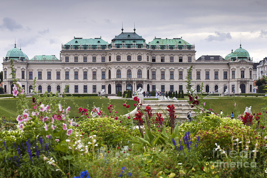 Architecture Photograph - Belvedere Palace by Andre Goncalves