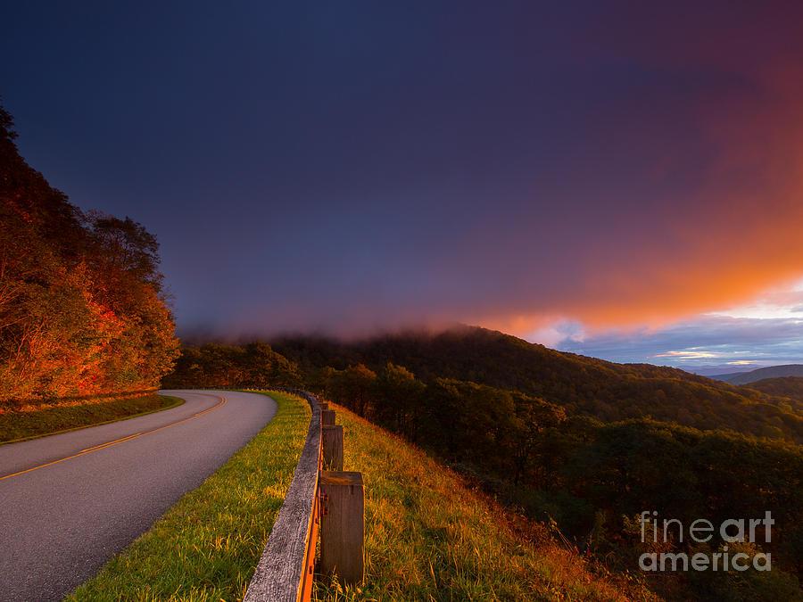 Blue Ridge Parkway Photograph - Blue Ridge Parkway. by Itai Minovitz