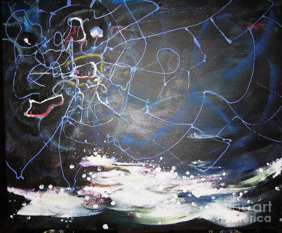 Abstract Paintings Painting - Buckwheat Field by Seon-Jeong Kim