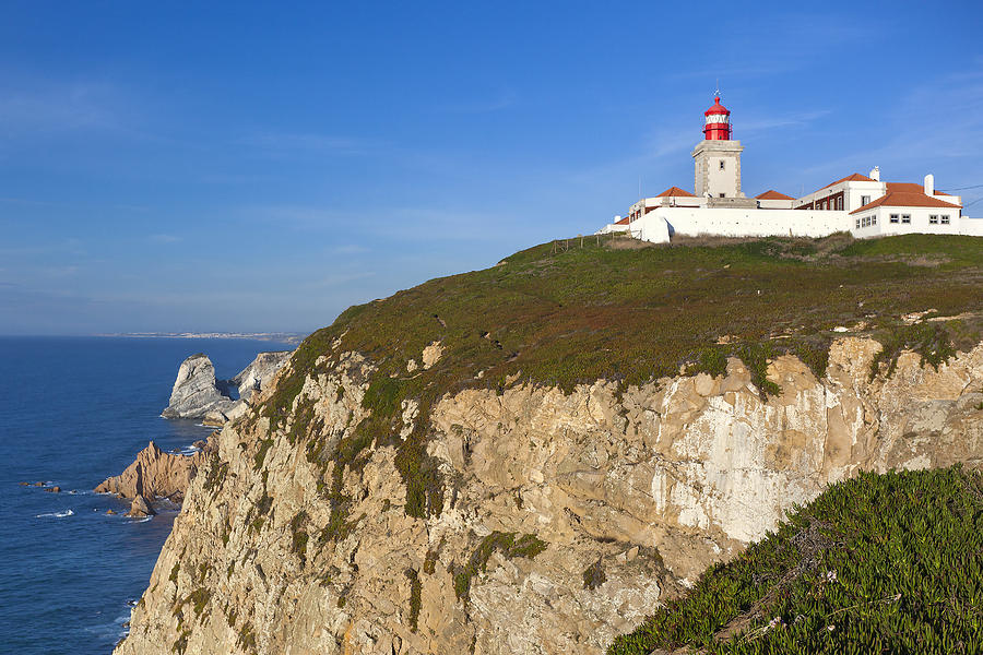 Cliff Photograph - Cabo Da Roca by Andre Goncalves