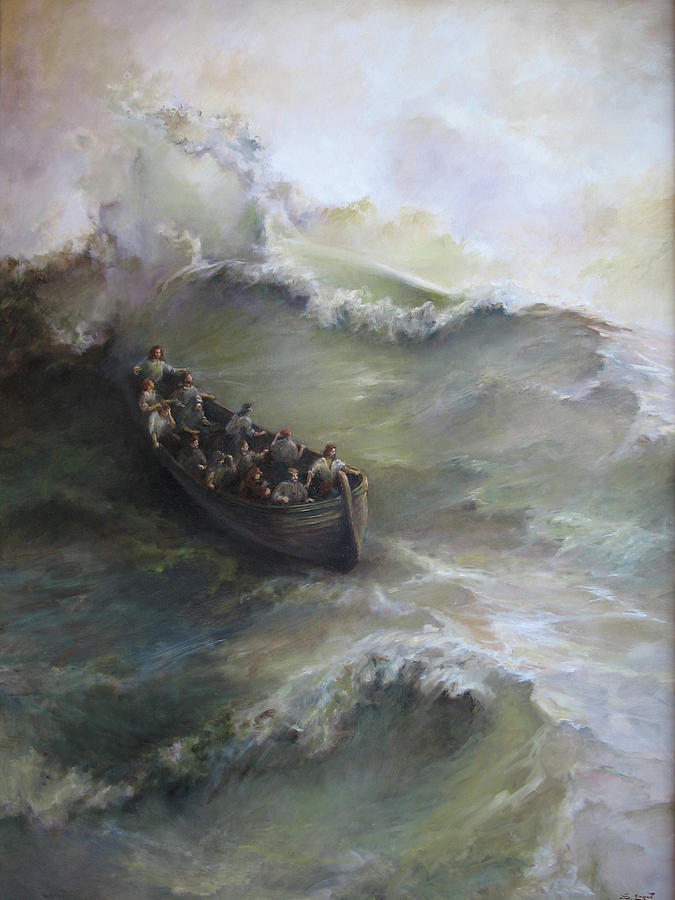 Calming The Storm Painting - Calming The Storm by Tigran Ghulyan