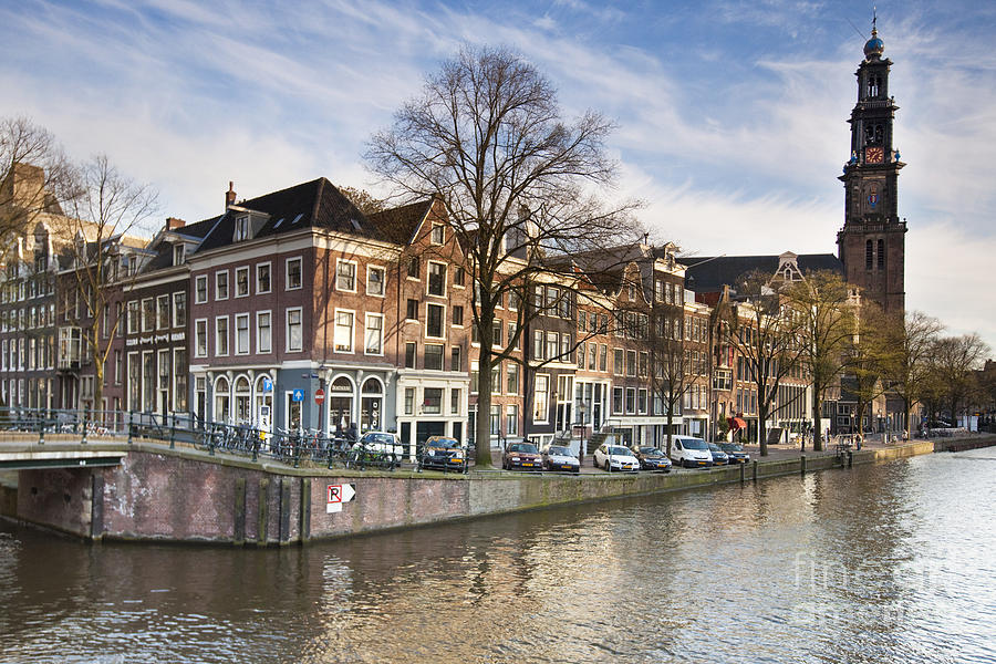 Age Photograph - Channels Of Amsterdam by Andre Goncalves