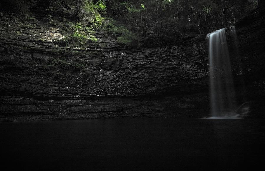 Cherokee Photograph - Cherokee Falls by Mike Dunn